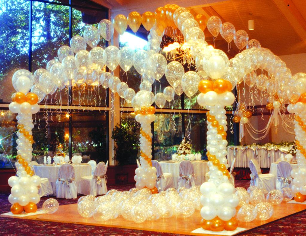 sales puosimas vestuvems balionais