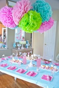gimtadienių dekoracijos