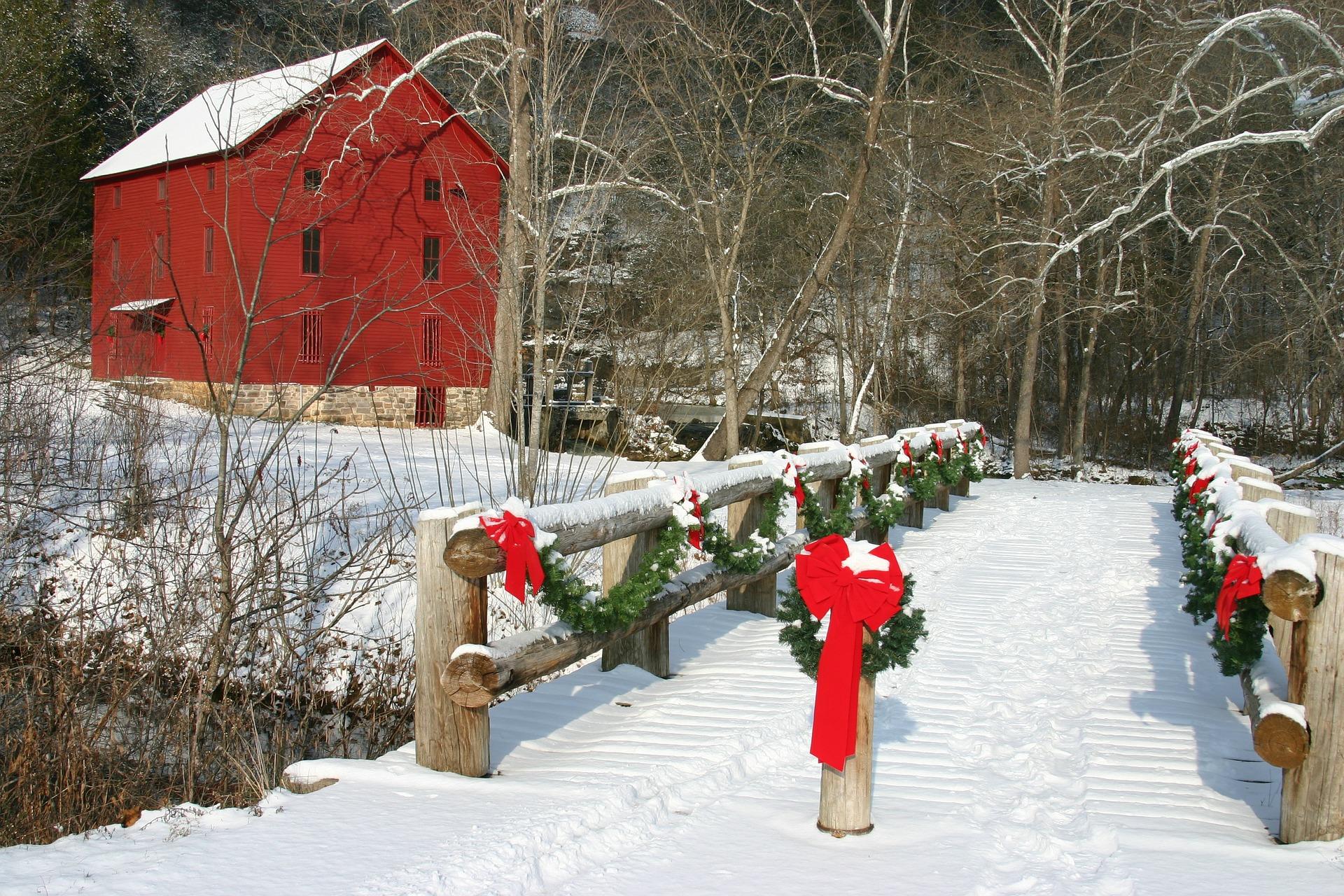 Kalėdinės lauko dekoracijos